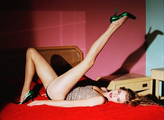 Photo by George Holz for Helmut Newton exhibit