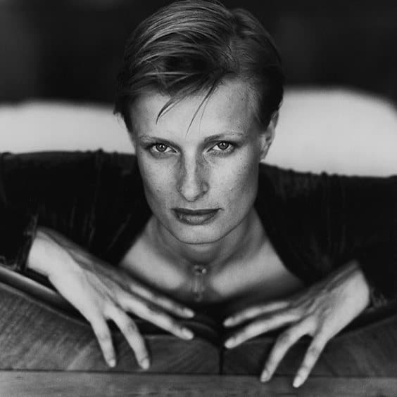 Photo by Kevin Hatt for Helmut Newton exhibit