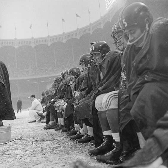 Yankee Stadium, Bronx, NY, December 14, 1958