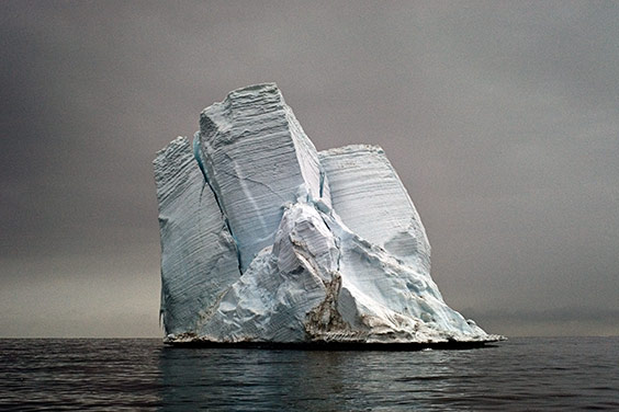Antarctica, 2006  Severed from the edge of Antarctica, this iceberg might float for years as it melts and releases its store of fresh water into the sea. The water molecules will eventually evaporate, condense and recycle back to Earth as precipitation.