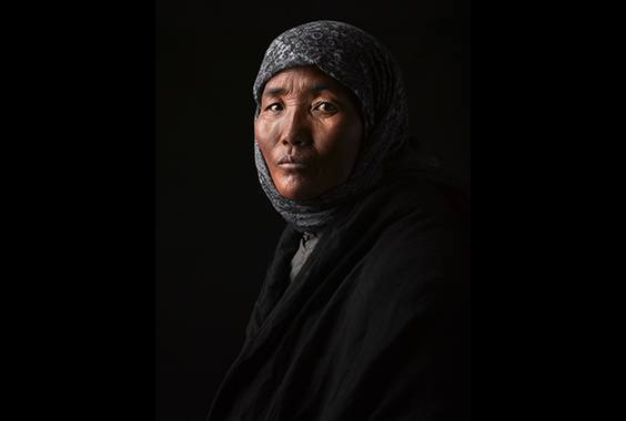 David Zimmerman: One Voice: Portraits of Tibetans Living in Exile photo