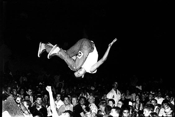 Ed Colver: Living in Chaos: Capturing the Birth of L.A. Hardcore photo
