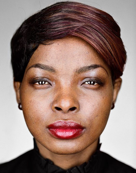 New Americans: Portraits of refugees who have recently resettled in the United States as part of the U.S. Refugee Admissions Program. Patricia, 22, Democratic Republic of the Congo
