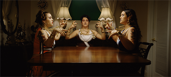 Untitled (Dinner Girls), 2002