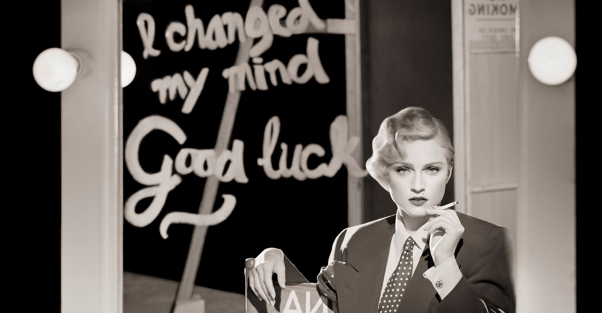 Madonna as Marlene