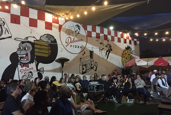 CONTACT HIGH Summer Film Series at Delicious Pizza Presents